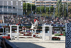 Said Abdel, (EGY), Vigino <br /> First Round<br /> Furusiyya FEI Nations Cup Jumping Final - Barcelona 2015<br /> © Dirk Caremans<br /> 24/09/15