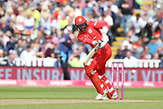 Lancashires Arron Lilley during the Vitality T20 Finals Day semi final 2018 match between Worcestershire Rapids and Lancashire Lightning at Edgbaston, Birmingham, United Kingdom on 15 September 2018.