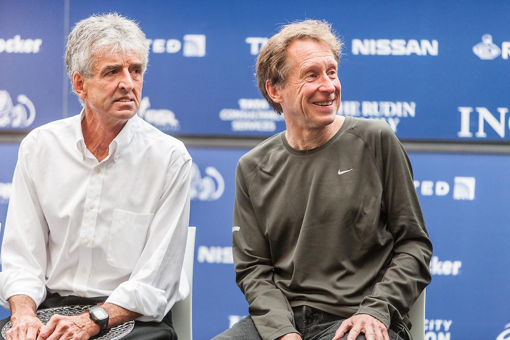 ING New York City Marathon: NYRR Hall of Fame induction,Frank Shorter, Bill Rodgers