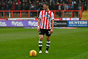 Lee Holmes (10) of Exeter City during the EFL Sky Bet League 2 match between Exeter City and Cambridge United at St James' Park, Exeter, England on 26 January 2019.