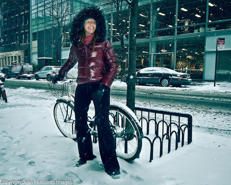Cristina Morrison, photographed by Juan Fernando