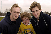Leeds Premier Rugby Camp at Ilkley RFC. 20-2-06. Pics with Leeds Players