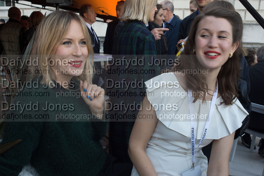 BROGAN DRISCOLL; JOSEPHINE PAYNE, Opening of Photo London,  Somerset House. London. 20 May 2015