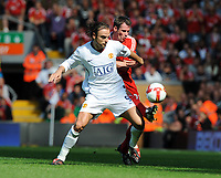 Dimitar Berbatov<br /> Manchester United 2008/09<br /> Jamie Carragher Liverpool<br /> Liverpool V Manchester United (2-1) 13/09/08<br /> The Barclays Premier League<br /> Photo Robin Parker Fotosports International