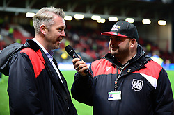 Willie Kirk of Bristol City Womens is interviewed pitch side - Mandatory by-line: Dougie Allward/JMP - 05/11/2016 - FOOTBALL - Ashton Gate - Bristol, England - Bristol City v Brighton and Hove Albion - Sky Bet Championship