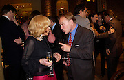 Lady Wyatt and Andrew Roberts. Lady Wyatt. Book party for LAST VOYAGE OF THE VALENTINA by Santa Montefiore (Hodder & Stoughton) Asprey,  New Bond St. 12 April 2005. ONE TIME USE ONLY - DO NOT ARCHIVE  © Copyright Photograph by Dafydd Jones 66 Stockwell Park Rd. London SW9 0DA Tel 020 7733 0108 www.dafjones.com