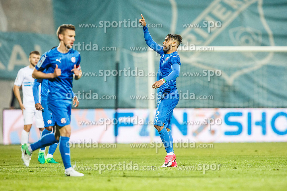 Hilal Soudani #2 of GNK Dinamo Zagreb during football match between HNK Rijeka and GNK Dinamo Zagreb in Round #27 of 1st HNL League 2016/17, on November 5, 2016 in Rujevica stadium, Rijeka, Croatia. Photo by Grega Valancic / Sportida
