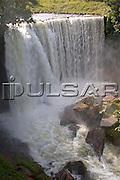 Cachoeira da Fumaça no Rio Balsas na cidade de Ponte Alta do Tocantins - Jalapão Local: Ponte Alta do Tocantins - TO Data: 02/2008 Tombo:  19DM050 Autor: Delfim Martins
