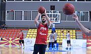 DESCRIZIONE : Skopje torneo internazionale - Allenamento<br /> GIOCATORE : Luca Vitali<br /> CATEGORIA : nazionale maschile senior A <br /> GARA : Skopje torneo internazionale - Allenamento <br /> DATA : 24/07/2014 <br /> AUTORE : Agenzia Ciamillo-Castoria