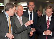 19/05/2015   HRH The Prince of Wales on his visit to the Marine Institute where he met Peter Heffernan, CEO Marine Institute, Minister Simon Coveney  and  An Taoiseach Enda Kenny TD . Photo: Andrews Downes XPOSURE