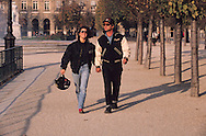 France. Paris. french living with american style dresses  Paris  France