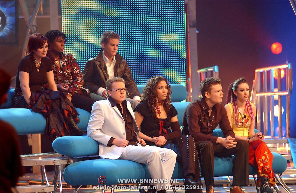 Opname Idols, deelnemers
