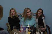 Lucinda Cook, Venetia Langley and Francesca Wilson. NSPCC Berkeley Dress Show,  Savoy. 9 april 2001. © Copyright Photograph by Dafydd Jones 66 Stockwell Park Rd. London SW9 0DA Tel 020 7733 0108 www.dafjones.com