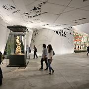 Palazzo Italia  ispirato a una foresta urbana; la pelle ramificata disegnata dallo Studio Nemesi. Mette in mostra la cultura e le tradizioni italiane legate al cibo e all'alimentazione.<br /> Expo2015 Milano 5/05/2015