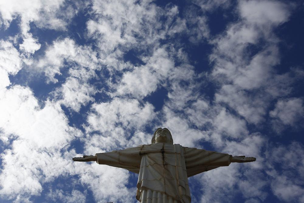 Itatiaiucu_MG. Brasil.<br /> <br /> Cristo Redentor em IItatiaiucu, Minas Gerais.<br /> <br /> Redeemer Christ in Itatiaiucu, Minas Gerais.<br /> <br /> Foto: BRUNO MAGALHAES / NITRO