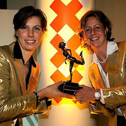 15-12-2008 ALGEMEEN: TOPSPORT GALA: AMSTERDAM<br /> Sportploeg van het jaar Marit van Eupen en Kirsten van der Kolk<br /> ©2008-WWW.FOTOHOOGENDOORN.NL