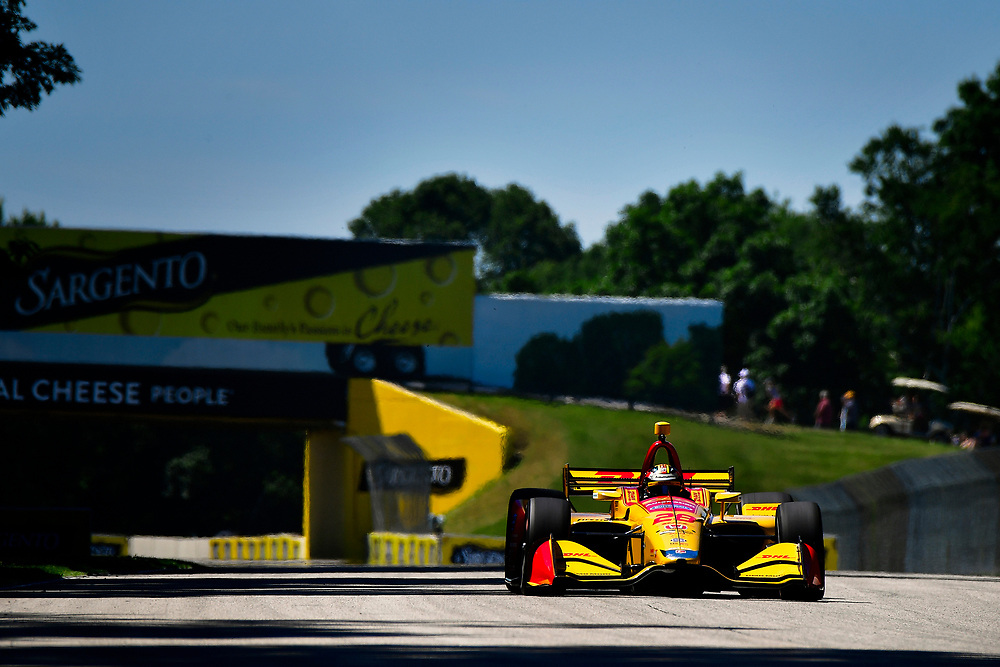 Ryan Hunter-Reay, Andretti Autosport Honda<br /> Saturday 23 June 2018<br /> KOHLER Grand Prix at Road America<br /> Verizon IndyCar Series<br /> Road America WI USA<br /> World Copyright: Scott R LePage