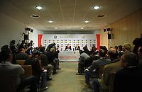 Handball EM Herren 2010 Hauptrunde Deutschland - Frankreich 24.01.2010 Pressekonferenz; Uebersicht;Feature;