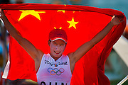 China Qindao Sailing Olympic Games 2008<br /> Gold Medalist Yin, RSX Class women from China