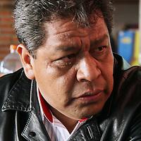 TOLUCA, México.- Luis Zamora Calzada, secretario general del Sindicato Único de Maestros y Académicos del Estado de México (SUMAEM), destacó que las metas para esta organización en el 2011 es contar con un padrón de 15 mil afiliados y consolidar a este naciente sindicato y trabajará en el tema de la reforma educativa, ante la Junta de Coordinación Política de la LVII Legislatura del Estado de México. Agencia MVT / José Hernández. (DIGITAL)