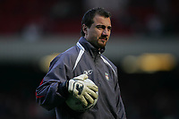 Photo: Lee Earle.<br /> Liverpool v Manchester United. The FA Cup. 18/02/2006. Liverpool's Jerzy Dudek