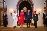 Queen Rania &  Agata Kornhauser-Duda Visit Museum