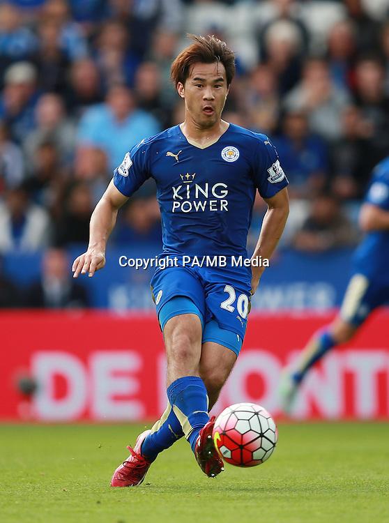 Leicester City's Shinji Okazaki