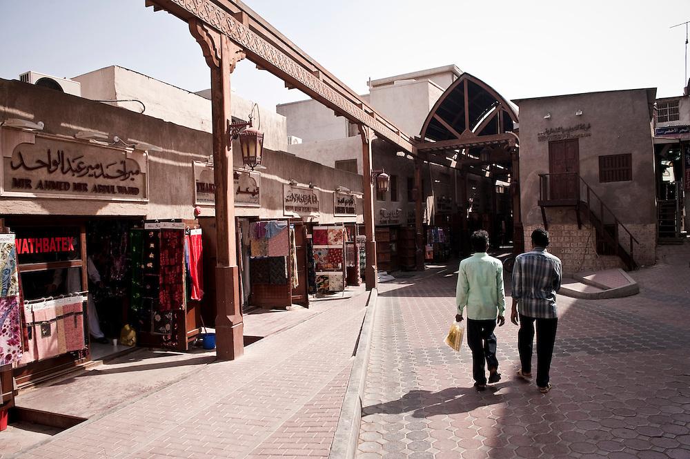 The Bur Dubai souk near the Bastakiya, Dubai, UAE Archive of images of Dubai by Dubai photographer Siddharth Siva