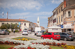 THEMENBILD - URLAUB IN KROATIEN, Urlauberverkehr nahe der Innenstadt, aufgenommen am 01.07.2014 in Porec, Kroatien // Leisure traffic near downtown in Porec, Croatia on 2014/07/01. EXPA Pictures © 2014, PhotoCredit: EXPA/ JFK