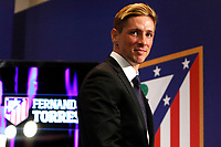 Spanish soccer player Fernado Torres is presented as Atletico de Madrid new player at Vicente Calderon Stadium in Madrid. January 04, 2015. (ALTERPHOTOS/Caro Marin)