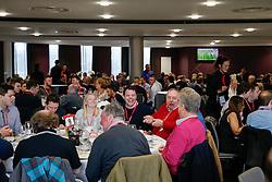 General View during lunch service in the Heineken Lounge - Mandatory byline: Rogan Thomson/JMP - 13/02/2016 - FOOTBALL - Ashton Gate Stadium - Bristol, England - Bristol City v Ipswich Town - Sky Bet Championship.