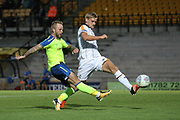 Derby's Johnny Russell shoots over the bar during the Pre-Season Friendly match between Port Vale and Derby County at Vale Park, Burslem, England on 18 July 2017. Photo by John Potts.