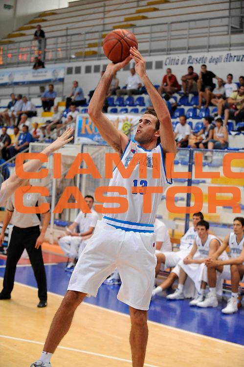 DESCRIZIONE : Roseto degli Abruzzi Giochi del Mediterraneo 2009 Mediterranean Games Italia Serbia Italy Serbia Quarter Final<br /> GIOCATORE : Luigi Datome<br /> SQUADRA : Nazionale Italiana Maschile<br /> EVENTO : Roseto degli Abruzzi Giochi del Mediterraneo 2009<br /> GARA : Italia Serbia Italy Serbia <br /> DATA : 01/07/2009<br /> CATEGORIA : tiro<br /> SPORT : Pallacanestro<br /> AUTORE : Agenzia Ciamillo-Castoria/G.Ciamillo