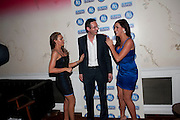 MICHELLE HEATON; MARK CRITCHLEY; KATIE GREEN, Durex - 80th birthday party. Sketch, 9 Conduit Street, London W1, 20 OCTOBER 2009