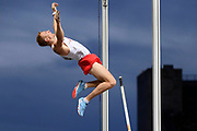 Piotr Lisek (POL) competes in Pole Vault Men during the European Championships 2018, at Olympic Stadium in Berlin, Germany, Day 6, on August 12, 2018 - Photo Julien Crosnier / KMSP / ProSportsImages / DPPI