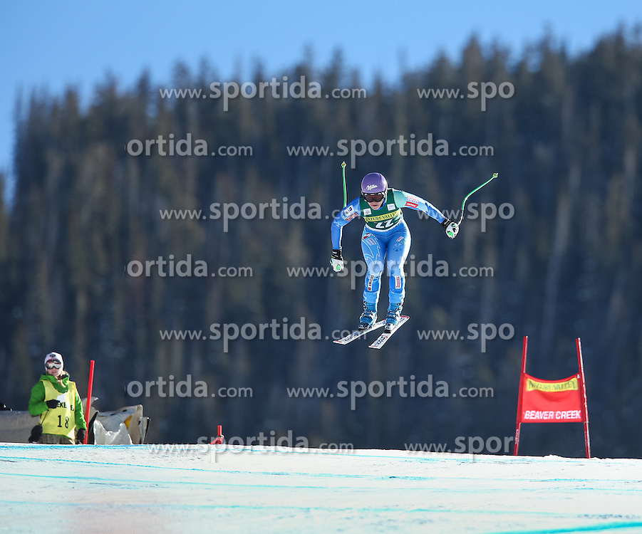 29.11.2013, Birds of Prey Raptor, Beaver Creek, USA, FIS Ski Weltcup, Beaver Creek, Abfahrt, Damen, Rennen, im Bild Tina Maze (SLO) // Tina Maze of Slovenia in action during the ladies Downhill of the Beaver Creek FIS Ski Alpine World Cup at the Birds of Prey Raptor in Beaver Creek, United States on 2012/11/29. EXPA Pictures © 2013, PhotoCredit: EXPA/ Johann Groder