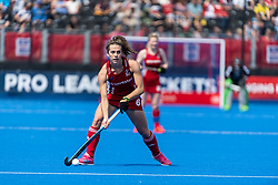 Anna Toman of Great Britain Women during the 2019 Women's FIH Pro League match at Lee Valley Hockey Centre, Stratford<br /> Picture by Simon Parker/Focus Images Ltd <br /> 18/05/2019