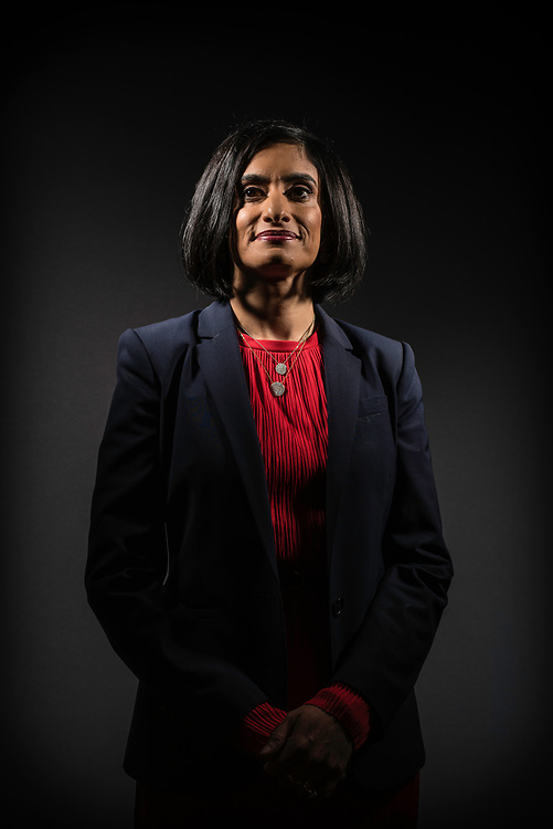 WASHINGTON, DC -- 8/2/17 -- Seema Verma is Administrator, Centers for Medicare and Medicaid Services at Health and Human Services. She is the architect of the GOP's medicaid expansion under the Affordable Care Act..…by André Chung #_AC12809