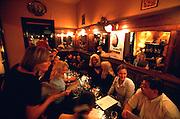 Brussels, Belgium. Stekerlapatte traditional restaurant.