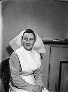 02/03/1955<br /> 03/02/1955<br /> 02 March 1955<br /> <br /> Irish Red Cross Society - Special for Nurse Morgan, St Vincent's Hospital