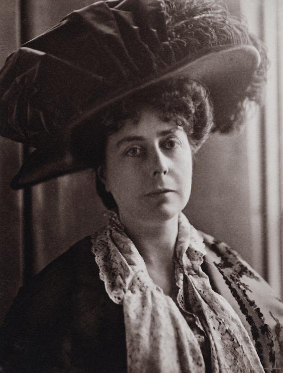 Ethel Brilliana Tweedie, (Mrs. Alec Tweedie), travel writer, England, UK, 1909