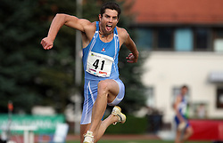 Andrej Batagelj at Athletic National Championship of Slovenia, on July 20, 2008, in Stadium Poljane, Maribor, Slovenia. (Photo by Vid Ponikvar / Sportal Images).