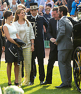 Borgholm,  14-07-2015<br /> <br /> Crown Princess Victoria of Sweden celebrated her 38th birthday at Borgholm Stadium with Prince Daniel, King Carl Gustaf and Queen Silvia, Princess Madeleine,  Chris ONeill.<br /> Prince Carl Phillip and Princess Sofia.<br /> <br /> Royalportraits Europe/Bernard Ruebsamen