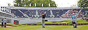Eddie PEPPERELL on the 18th during the 4th day of the BMW PGA Championship at Wentworth, Virginia Water, United Kingdom on 24 May 2015. Photo by Ellie  Hoad.