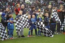 Derby Flag Bearers, Derby County v Brighton &Hove Albion, IPro Stadium, Sky Bet Championship,  Saturday 12th December 2015
