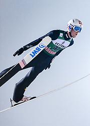 February 8, 2019 - Lahti, Finland - Daniel-André Tande competes during FIS Ski Jumping World Cup Large Hill Individual Qualification at Lahti Ski Games in Lahti, Finland on 8 February 2019. (Credit Image: © Antti Yrjonen/NurPhoto via ZUMA Press)