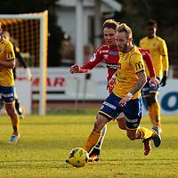 Jervs Tonny Brochmann under kvalik kampen til Eliteserien med Jerv-Kongsvinger 2-1 på Levermyr stadion i Grimstad.