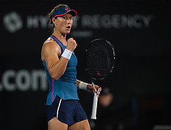January 7, 2019 - Sidney, AUSTRALIA - Samantha Stosur of Australia in action during the first round at the 2019 Sydney International WTA Premier tennis tournament (Credit Image: © AFP7 via ZUMA Wire)