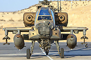Israeli Air force (IAF) Apache AH-64A (Peten) Helicopter