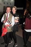 JOHN SEAGRIM; ARABELLA HUDDART, The preview of LAPADA Art and Antiques Fair. Berkeley Sq. London. 21 September 2015.